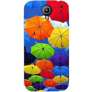 Casotec Colorful Umbrellas Design Hard Back Case Cover for Samsung Galaxy S4 i9500