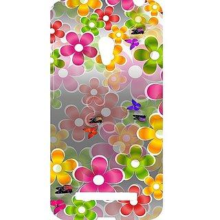 Casotec Butterflies Design Hard Back Case Cover for Asus Zenfone 5 A500CG
