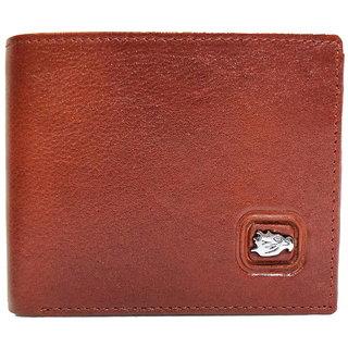 Moochies Tan Mens pure leather wallet emzmocgw9ptan