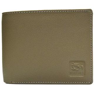Moochies Beige Mens pure leather wallet emzmocgwN304beige