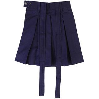 Navy Blue Uniform Skirt For Girls