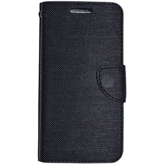 Colorcase Flip Cover Case for Htc Desire 628 ColD628Black