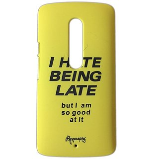 YGS Printed Matte Back Cover Case For Motorola Moto G3 -Yellow