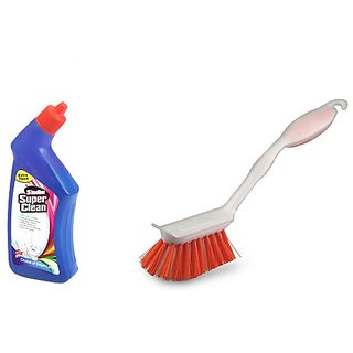 Super Clean Toilet Cleaner + Brush