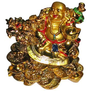 Veena deal Feng Shui Laughing Buddha With King Frog