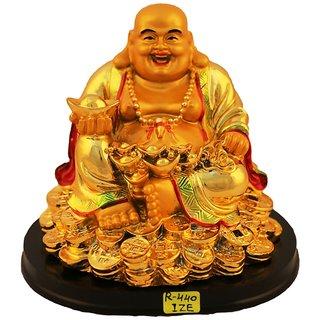 Aica feng shui laughing buddha happy man vastu showpeace-10