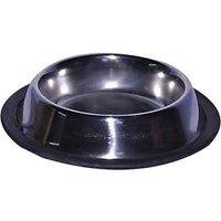 Waves Choostix Round Stainless Steel Pet Bowl(1 L Steel)