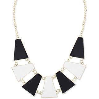 Shining Diva Non Plated Multi Necklace Set For Women-CFJ4613np