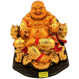 Aica feng shui laughing buddha happy man vastu showpeace-11