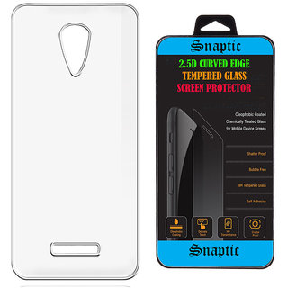 Snaptic Soft Transparent Back Cover for Lava Pixel V1