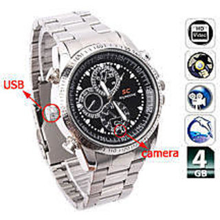 Best Spy Wrist Watch Camera 4Gb Inbult Memory