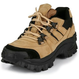b566ef691e82e Buy Afrojack Mens Beige Lace-up Boots Online   ₹799 from ShopClues