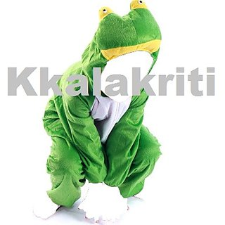Frog Animal Fancy Dress Costume For Kids