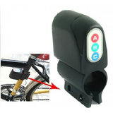 Vibration Activated 110dB Bicycle Anti Theft Security Alarm With Password Keypad