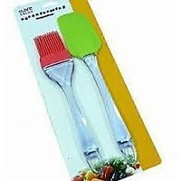 Set Of Silicone Brush & Spatula For Cocking Applying Butter Oil (kitchen Tool)