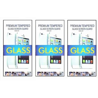TEMPERED(PACK OF 3) Glass Screen Protector For  VIVO Y11