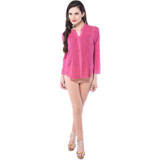 Pink Flower Print Sleevless Jumpsuit