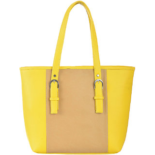 Fostelo WomenS Vancouver Shoulder Bag Yellow