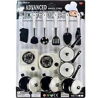 Buy Play Cooking Kitchenware Kitchen Set 12pcs Online Get 17 Off