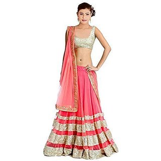 Krinal Enterprise Pink Colour Lehengas Choli
