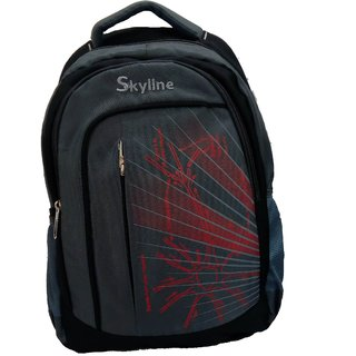 Skyline Unisex Laptop Backpack Bag-With Warranty-058-Grey