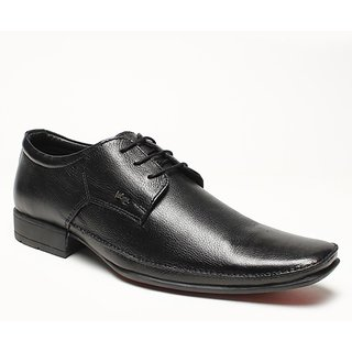 Lee Cooper Mens 1594 Black Formal Shoes