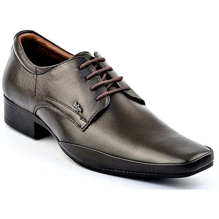 Lee Cooper Mens 2120 Brown Formal Shoes