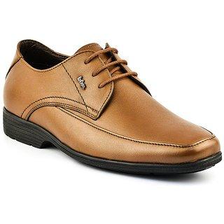 Lee Cooper Mens 2125 Tan Formal Shoes