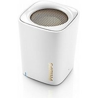 Philips BT100W/00 Bluetooth Mobile/Tablet Speaker (White, 1.0 Channel) -  1 Years Philips Warranty