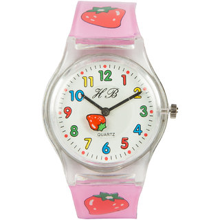 Round Dial Multi Silicone Strap Quartz Watch For Unisex By Stoln.