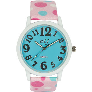 Multi Silicone Strap Round Dial Analog Watch For Kids By Stoln