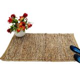 Rugs - Carpet - Dhurrie - Hand Woven - Jute Durrie - Small