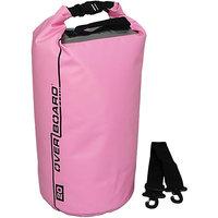 OverBoard Waterproof Dry Tube Bag, 20 Liter (Pink) - OB1005P