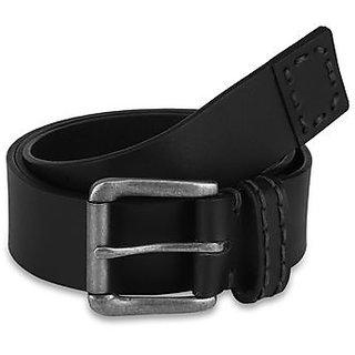 Pardigm Men's Black Leather Belt