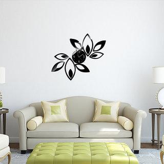 DIY Wall Clock 3D Sticker Home Office Decor 3D Wall Clock - 0518B