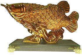 Arowana Feng Shui Fish (Gold Plated)