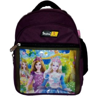 Skyline Childrens School Backpack-Purple-With Warranty-602