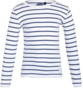 GRAIN Girls Striped Cotton Multicolor T-Shirts