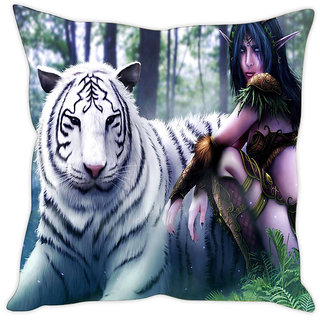 Fairshopping Cushion Cover Servant Of The Goddes  (PMCCWF0096)