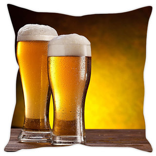Fairshopping Cushion Cover Beer Pic  (PMCCWF0337)