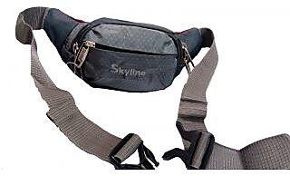 Skyline Unisex Grey Waist Pouch-With Warranty-1601