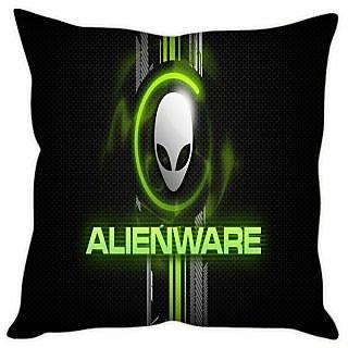 Fairshopping Cushion Cover Alenware Black Cover  (PMCCWF0576)