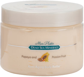 Dead Sea Minerals Papaya and Passion Fruit Anti Ageing Body Butter