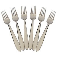 Table Fork 6pc Set - Hong Kong Fork Set - Stainless Steel Fork Set Of 6