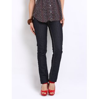 Lee Dark Blue Eva Mid Stylish Slim Skinny Jeans LEJN2448E