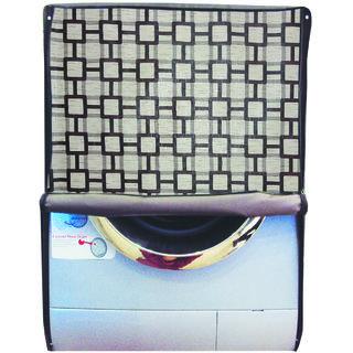 Glassiano Printed Waterproof  Dustproof Washing Machine Cover For Front Loading Bosch WAP24420IN SERIE 4, 9 kg Washing Machine