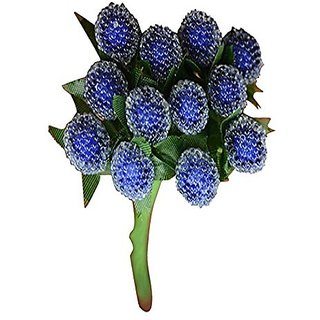Futaba Artificial Small Glass Berries - Blue