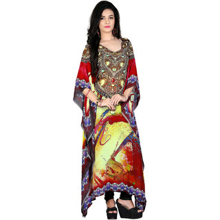 High Street Fashion Style Womens Poly Georgette kaftan