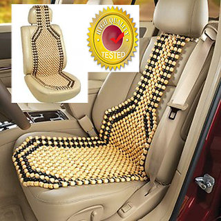 Wooden Beads Acupressure Car Seat by VG