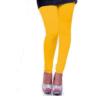 Organico Women Cotton Yellow  Leggings